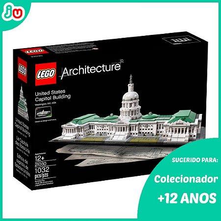 Lego Arquitetura Architecture 21030 Edifício Capitolio EUA
