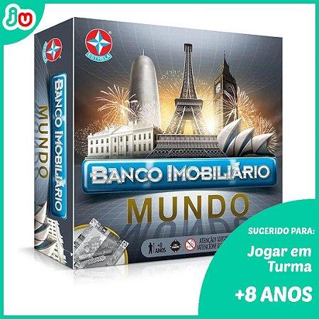 Banco Imobiliário Mundo - Estrela