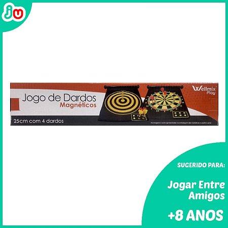 Jogo de Dardos Magnéticos - 4 Dardos