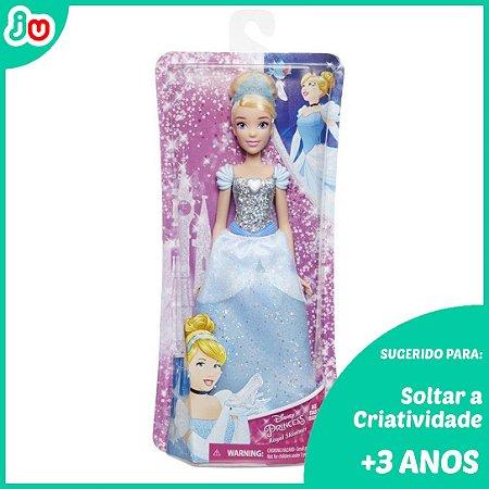 Boneca Clássica Disney Princesas - Cinderella - Hasbro 30cm