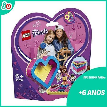 Lego Friends 41357 A Caixa Coracao da Olivia 85pcs
