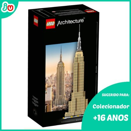 Lego Architecture 21046 - Empire State Building 1767pcs