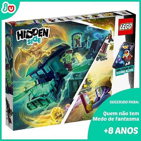 Lego Hidden Side 70424 - Expresso Fantasma 698pcs VR Incluso