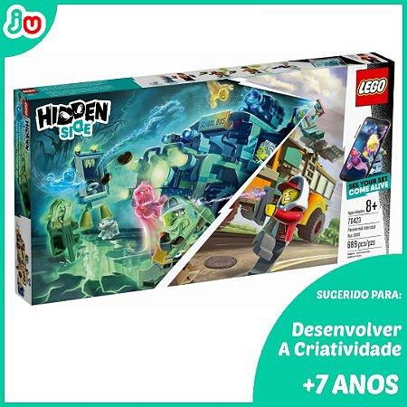 Lego Hidden Side 70423 o ônibus Paranormal Interceptor 689pcs
