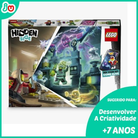 Lego Hidden Side 70418 Laboratorio de Fantasmas de JB 174pcs