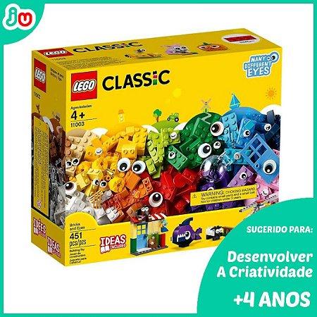 Lego Classic 11004 Janelas de Criatividade 450 peças