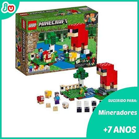 Lego Minecraft 21153 A Fazenda da Lã