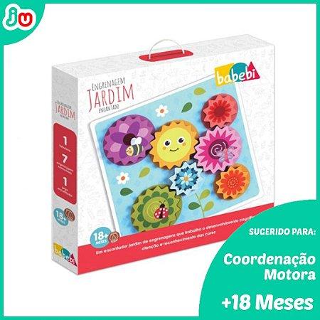 Brinquedos Educativo Engrenagens Jardim Encantado - Babebi