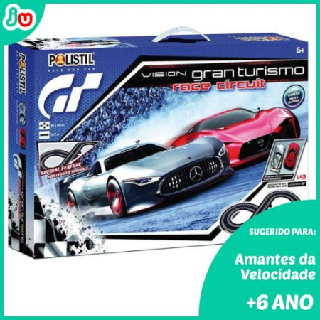Polistil Slot Car Autorama 96077 GranTurismo Mercedes Nissan