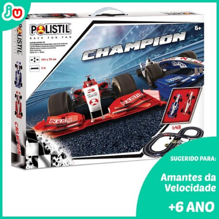 Polistil Slot Car Autorama 1/43 Champion 96017 Fórmula
