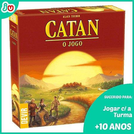 Catan - o Jogo - Devir Board Game Tabuleiro