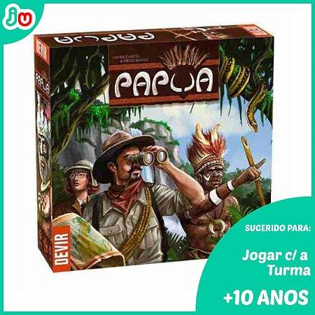 Jogo de Tabuleiro Papua - Board Game Devir