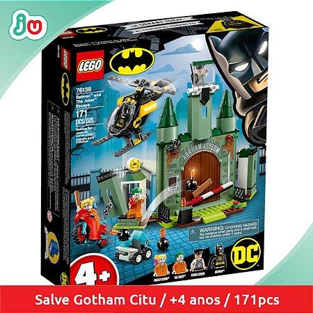 Lego DC Super Heroes 76138 Batman e a Fuga do Coringa 171pcs