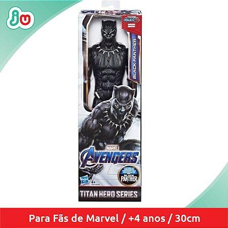 Boneco Pantera Negra Marvel Vingadores Hasbro