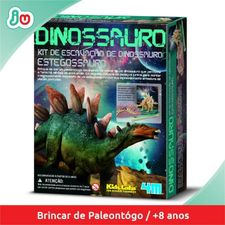 Kit de Escavação de Dinossauro Estegossauro - 4M Kidzlabs