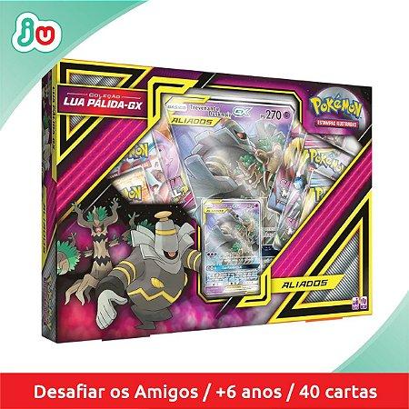 Box Pokémon Coleção Lua Pálida GX Trevenant e Duskonoir GX