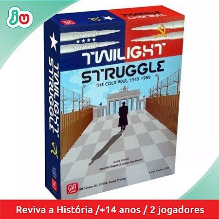 Jogo Tabuleiro Boardgame Twilight Struggle Guerra Fria Devir