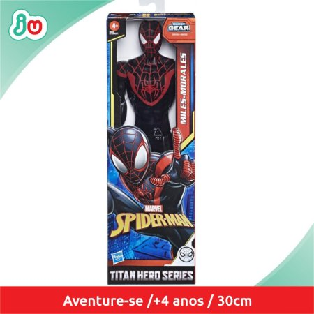 Boneco Miles Morales Spiderman Homem Aranha  Hasbro E7329