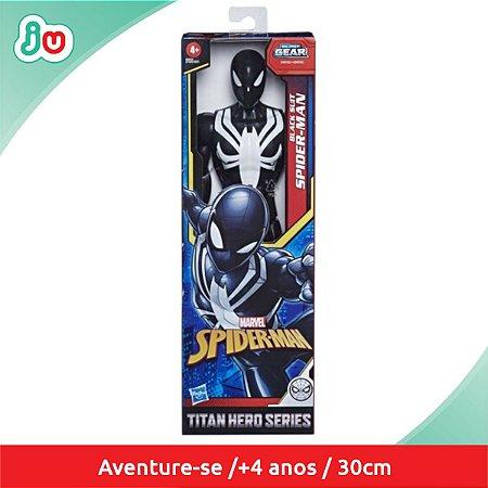 Boneco Homem Aranha Roupa Preta Marvel  Hasbro E7329