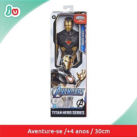 Boneco Iron Man Homem de Ferro Traje Dourado Hasbro E7878