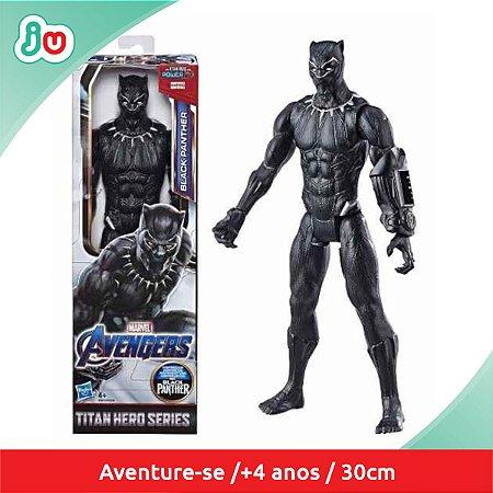 Boneco Action Figure Pantera Negra Vingadores Hasbro E7876