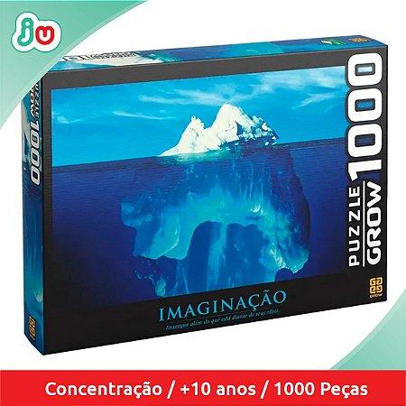 Quebra Cabeça Imaginação Iceberg Puzzle 1000 Peças Grow