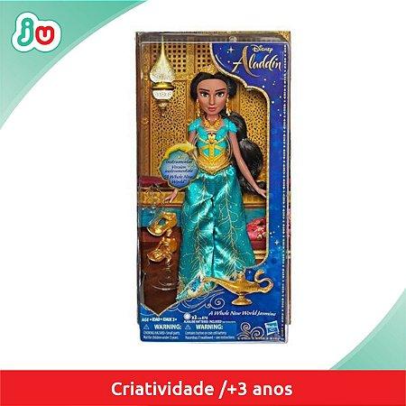 Boneca Jasmine Disney Aladdin Hasbro c/ Som E5442