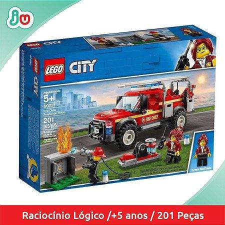 Lego City 60231 Caminhão do Chefe dos Bombeiros