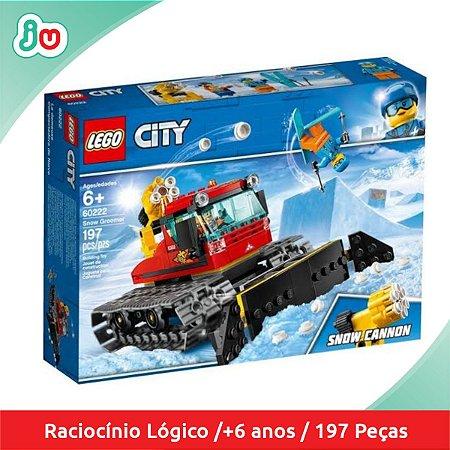 Lego City 60222 Veículo Limpa Neve