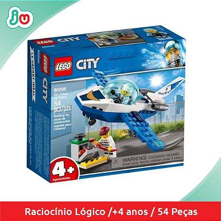 Lego City 60206 Polícia Aérea - Jet Patrol