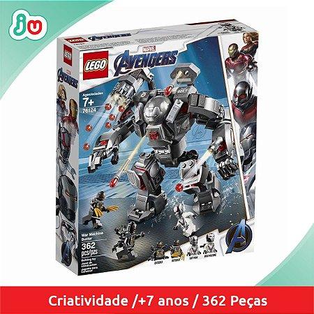 Lego Avengers 76124 Maquina de Guerra destruidora 362pcs