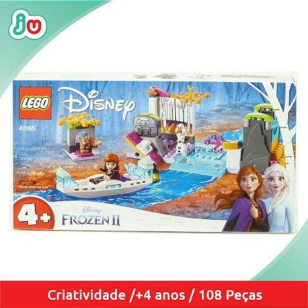 Lego Disney Frozen 41165 A Expedição de Canoa da Anna