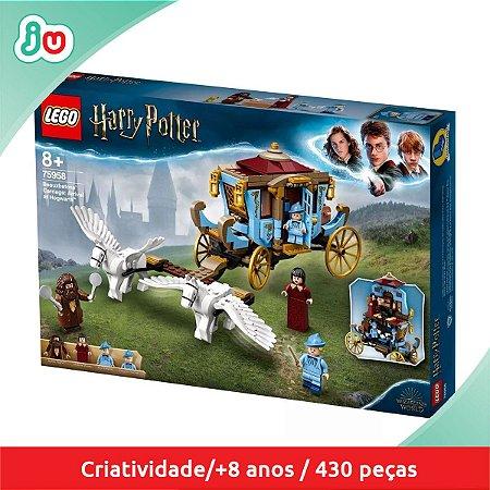 Lego Harry Potter 75958 Carruagem Beauxbatons Chgda Hogwarts