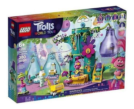 Lego Trolls World Tour 41255 - Festejo Na Aldeia Pop