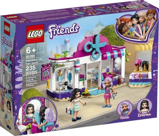 Lego Friends 41391 Salão De Cabeleireiro De Heartlake City