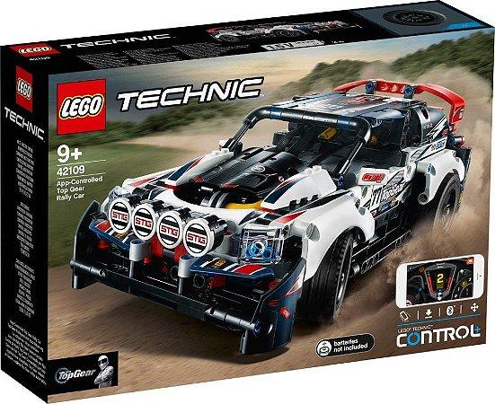Lego Technic 42109 Top Gear Rally Car Controlado Por App