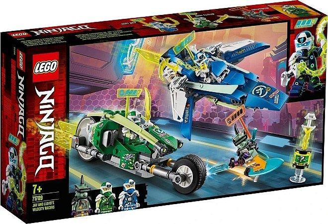 Lego Ninjago 71709 Os Veículos De Corrida Do Jay E Do Lloyd