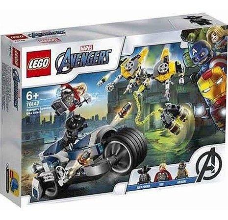 Lego Avengers 76142 Ataque Dos Vingadores Em Speeder Bike