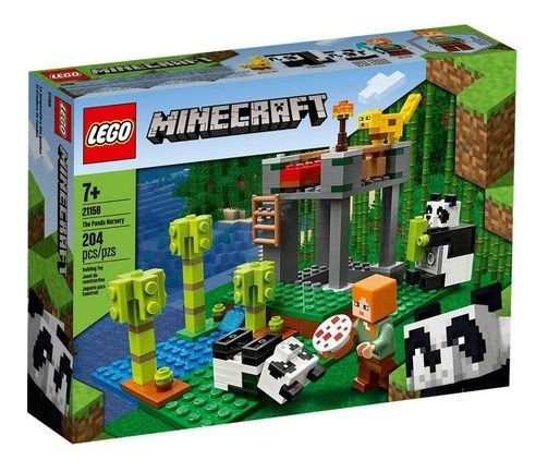 Lego Minecraft - 21158 - A Creche Do Panda