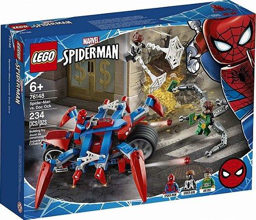 76148 Lego Super Heroes Homem Aranha - Spiderman Contra Doc