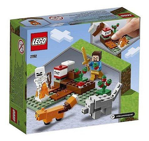 Lego Minecraft 21162 A Aventura Em Taiga