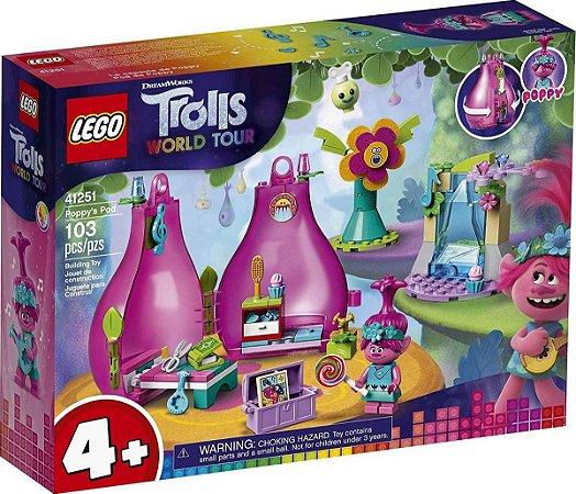 Lego Trolls World Tour 41251 - O Pod De Poppy