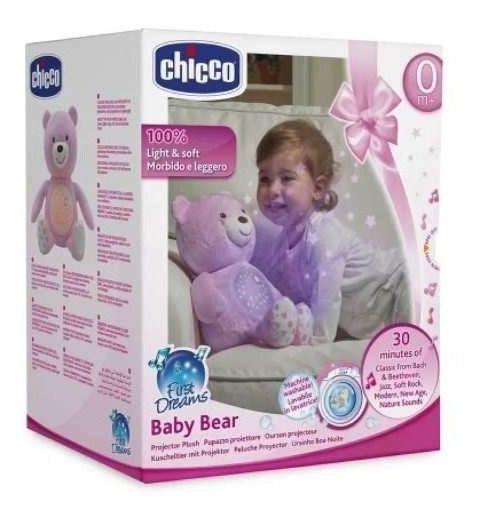 Projetor Bebe Urso - Rosa Chicco 80151