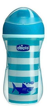 Copo Active Cup 14m + Menino Chicco Azul
