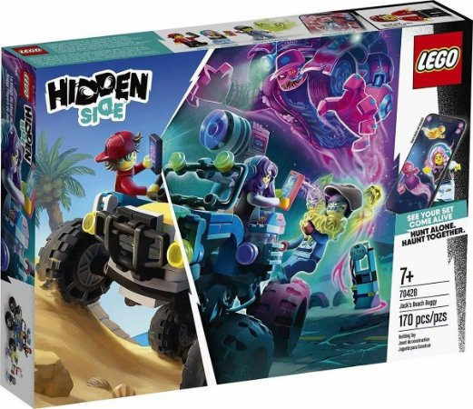 Lego Hidden Side 70428 - O Buggy De Praia De Jack