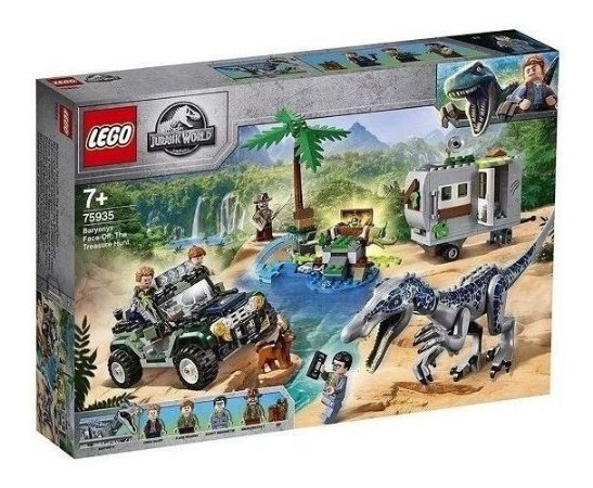 Lego Jurassic World 75935 Confronto Baryonyx Caça Ao Tesouro