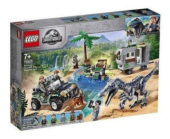 Lego Jurassic World 75935 Confronto Baryonyx Caça Ao Tesouro