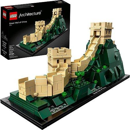 Lego Architecture 21041 Grande Muralha Da China 551 Peças