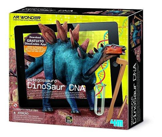 Kit Escavação e Realidade Aumentada Dino Dna Estegossauro 4m