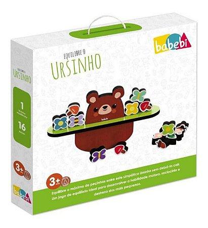 Brinquedo Educativo Equilibre O Ursinho - Babebi